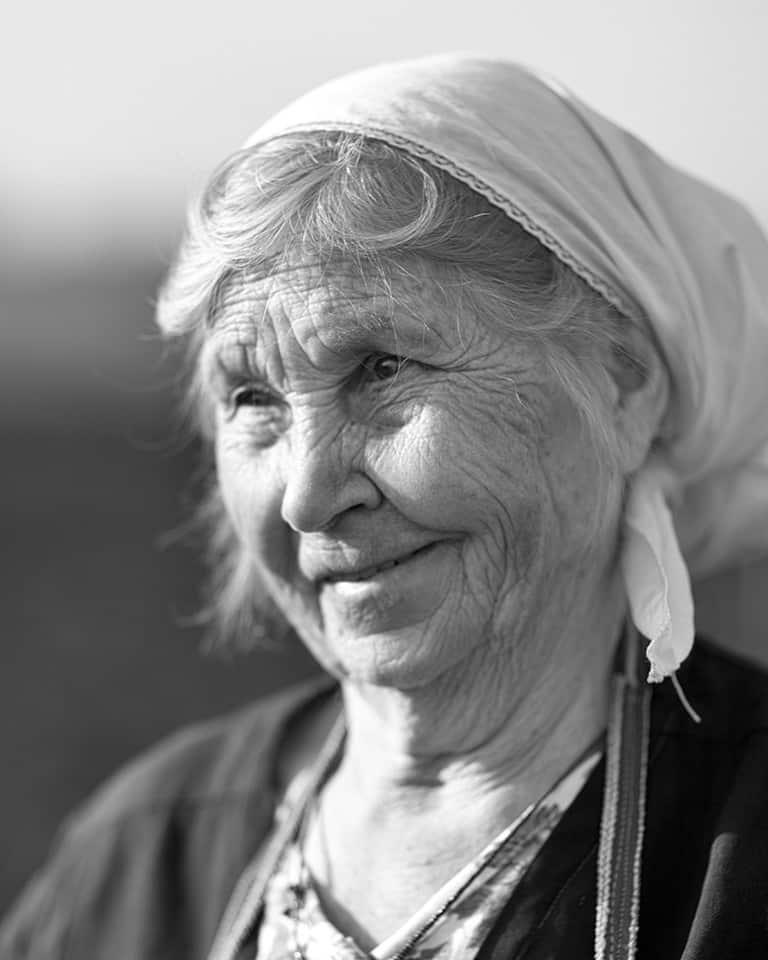 Russian Peasant Woman, Vronezh, Russia. 2004