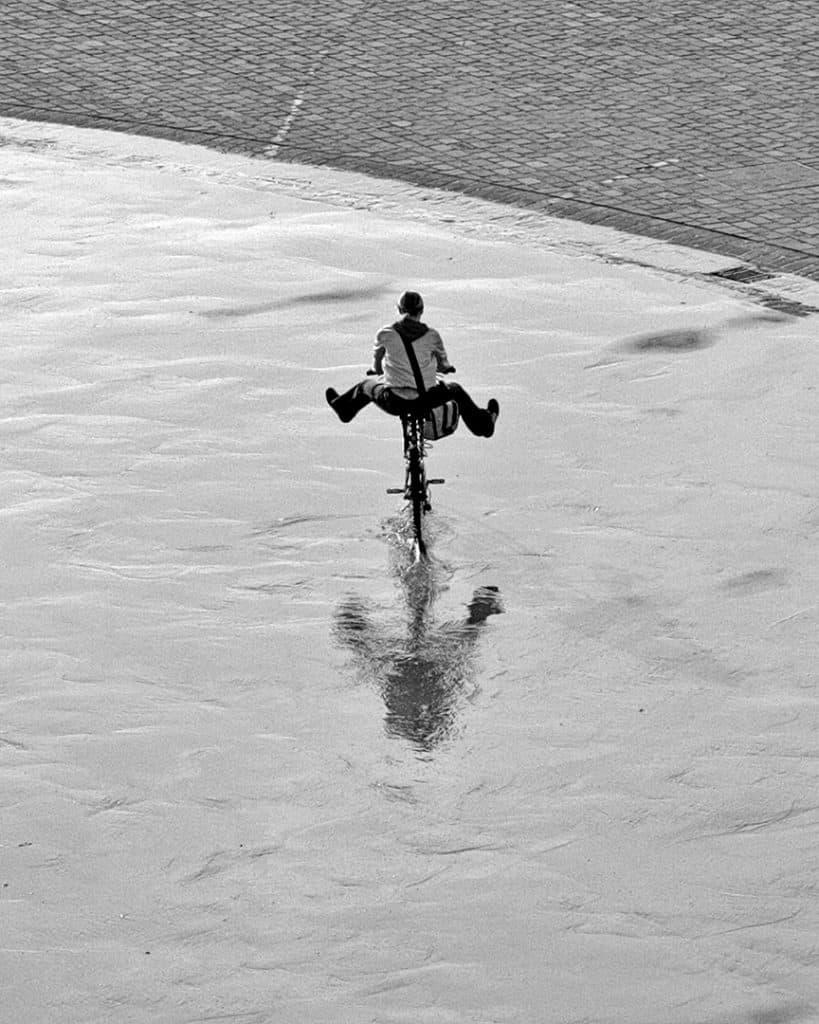 Rain adventures, Munich, Germany. 2005