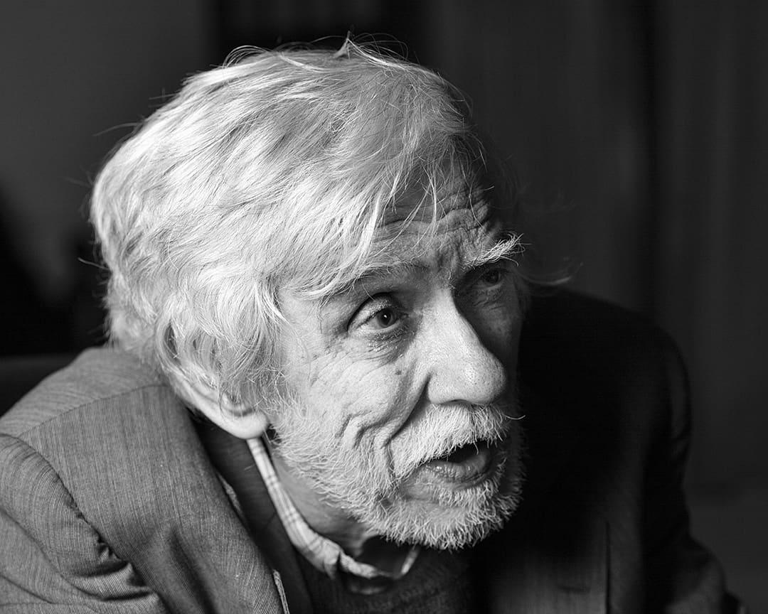 Antonio Ramos Rosa, Poet, Lisbon, Portugal. 2000