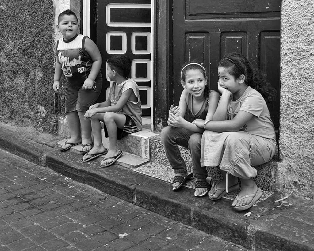 Children's stories, Morocco. 2010