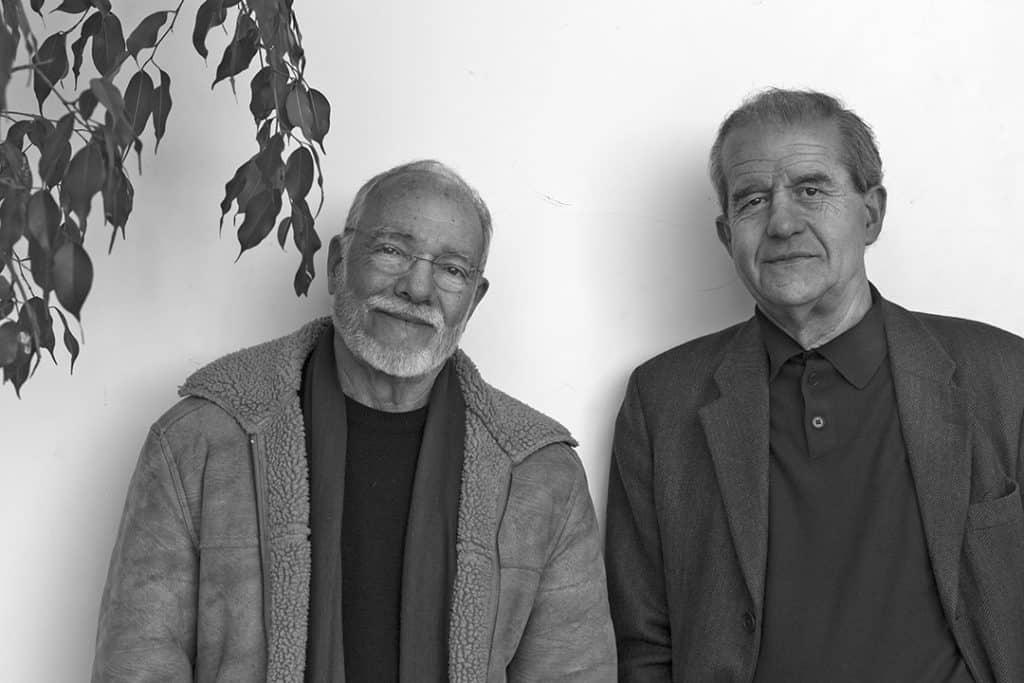 Luandino Vieira e Almeida Faria, Writers, Póvoa de Varzim, Portugal. 2011
