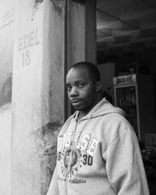 Moussa, Canteen Man, Luanda, Angola. 2014