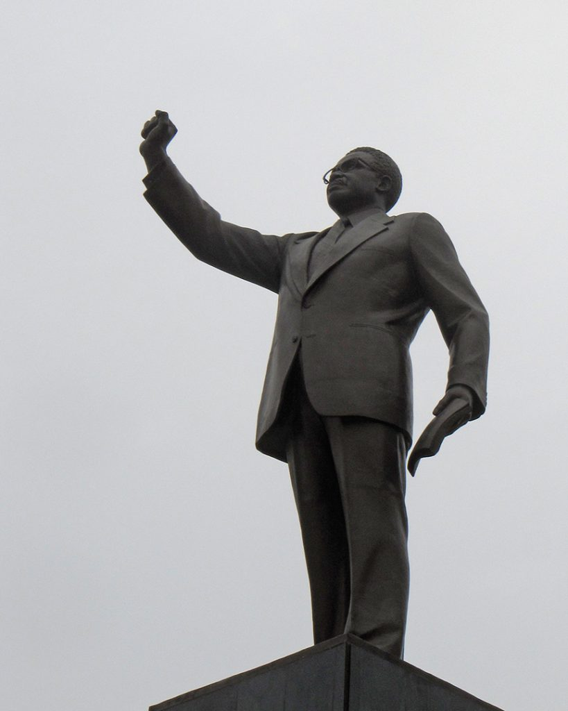 Statue of Agostinho Neto, Luanda, Angola. 2014.