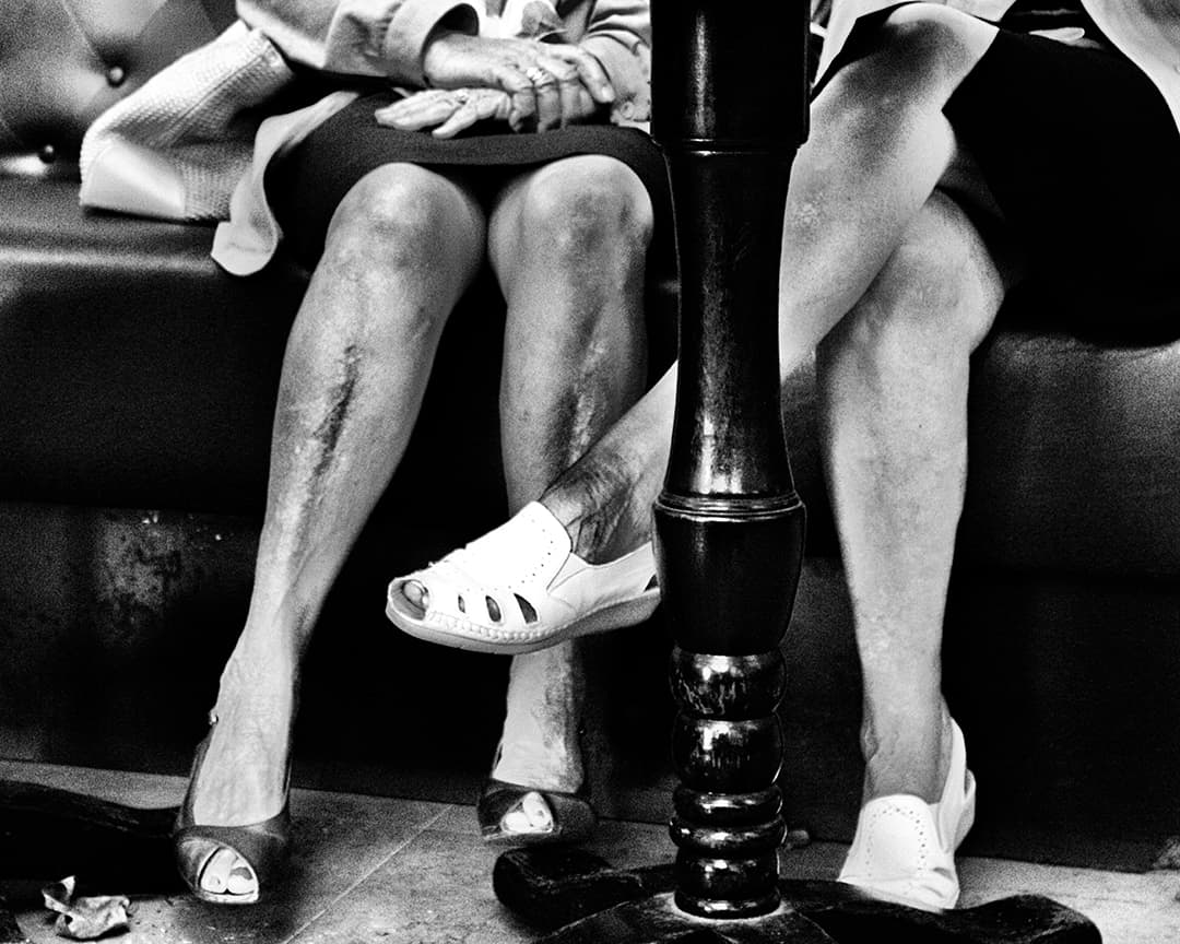 Talking Legs, Avignon, France. 2004